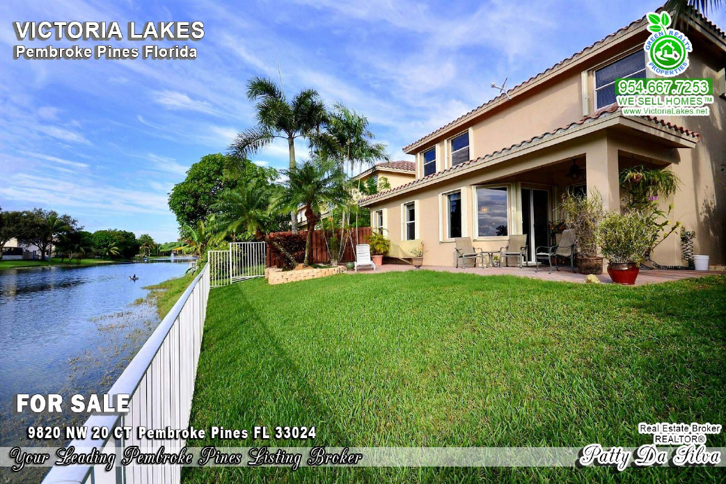 Homes For Sale in Victoria Lakes Pembroke Pines